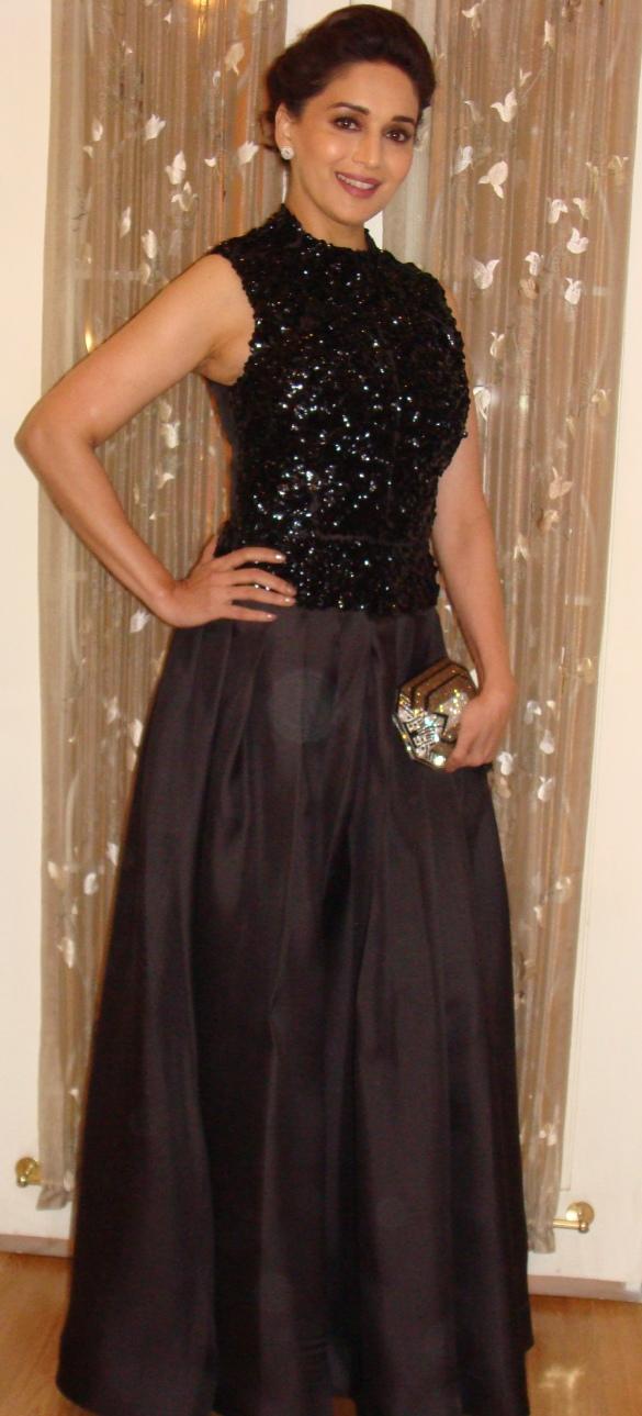 Madhuri Dixit Nene in her Dior Look