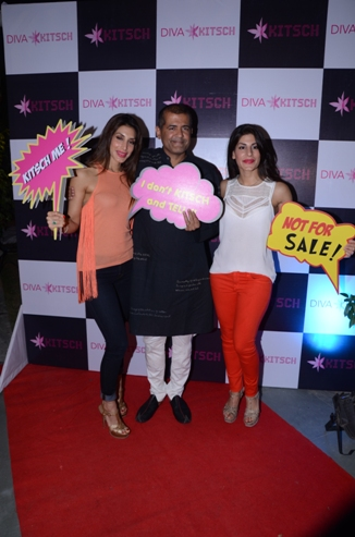 AD Singh with Priya and Charu Sachdev