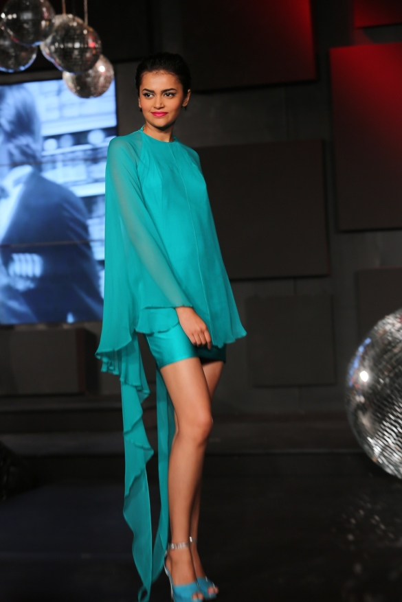 Seen at the Blenders Pride Fashion Tour, Gurgaon - Models in Wendell Rodrick's Collection 6