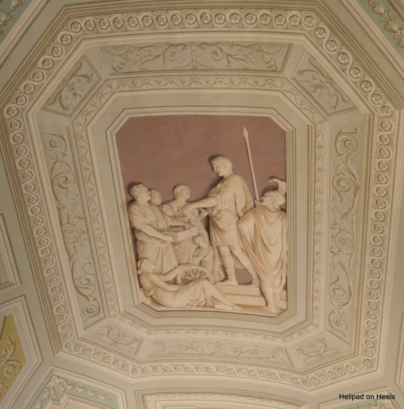 3D Painting on the ceilings of The Vatican museum