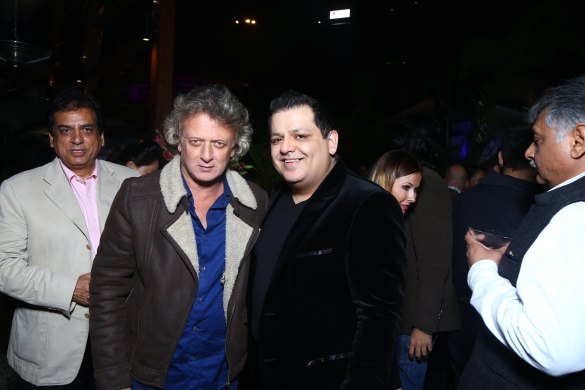 Rohit Bal with Rohit Gandi