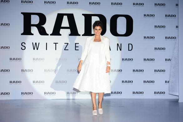 Lisa Ray at the launch of Rado Esenza Ceramic Touch