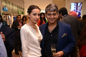 Mandira Wirk and Sanjay Kapoor