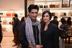 Manish Malhotra and Rina Dhaka