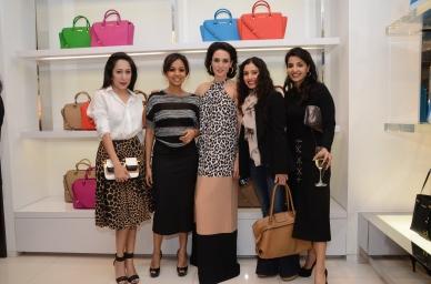 Nandini Bhalla, Nainika Wadhera, Sonya Jehan, Gauri Karan and Sumaya Dalmia