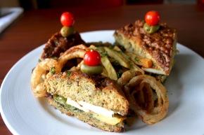Caribbean Zucchini Bread Sandwich
