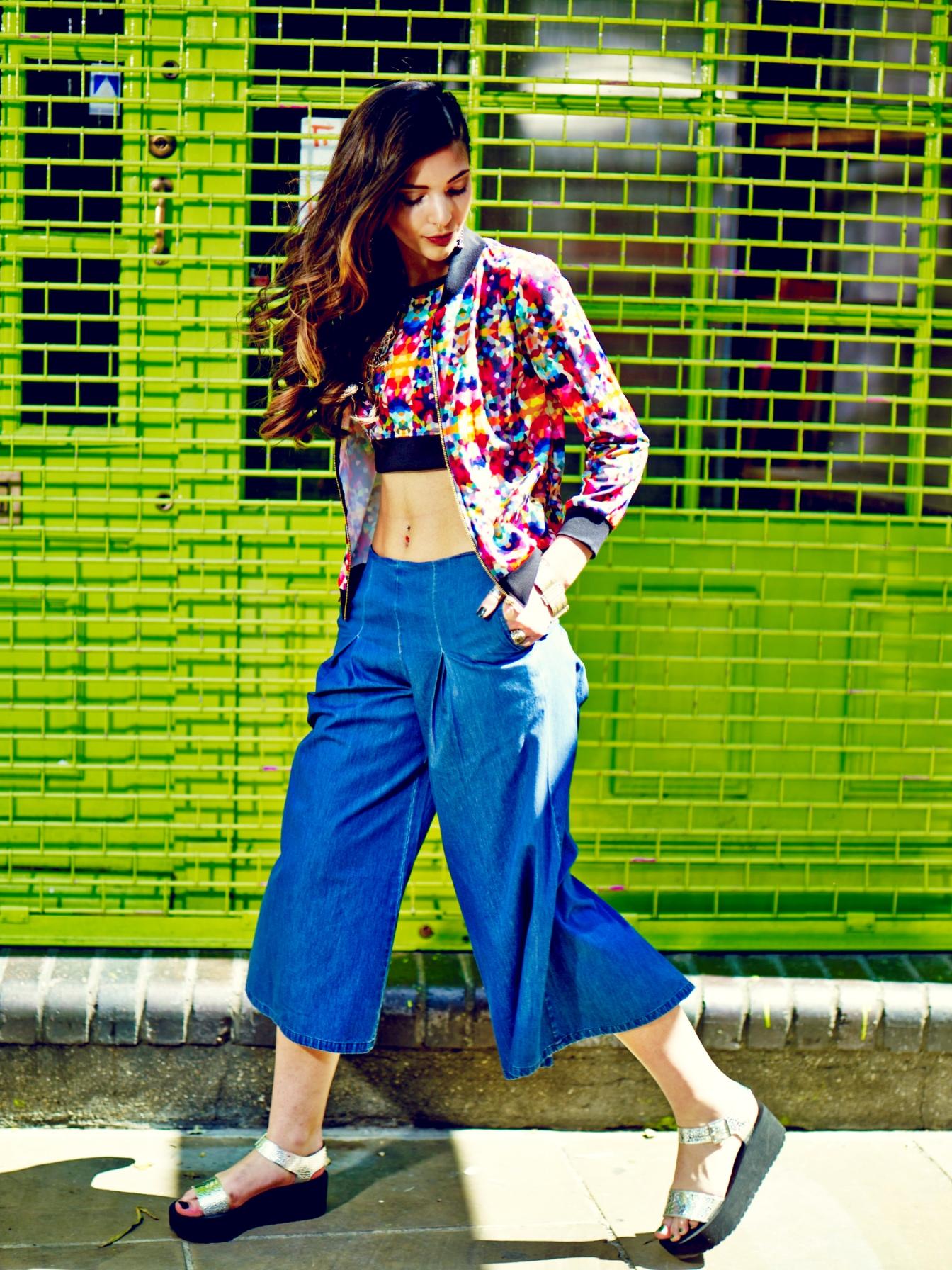 Kaleidoscopic Ivy Jacket Rs