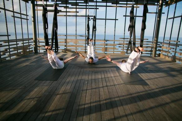 Alila Villas Uluwatu - Aerial Yoga 02