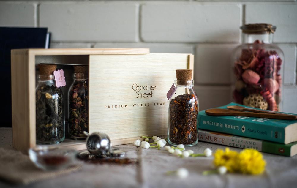 Gardner Street - Gifting - Wooden Teabox