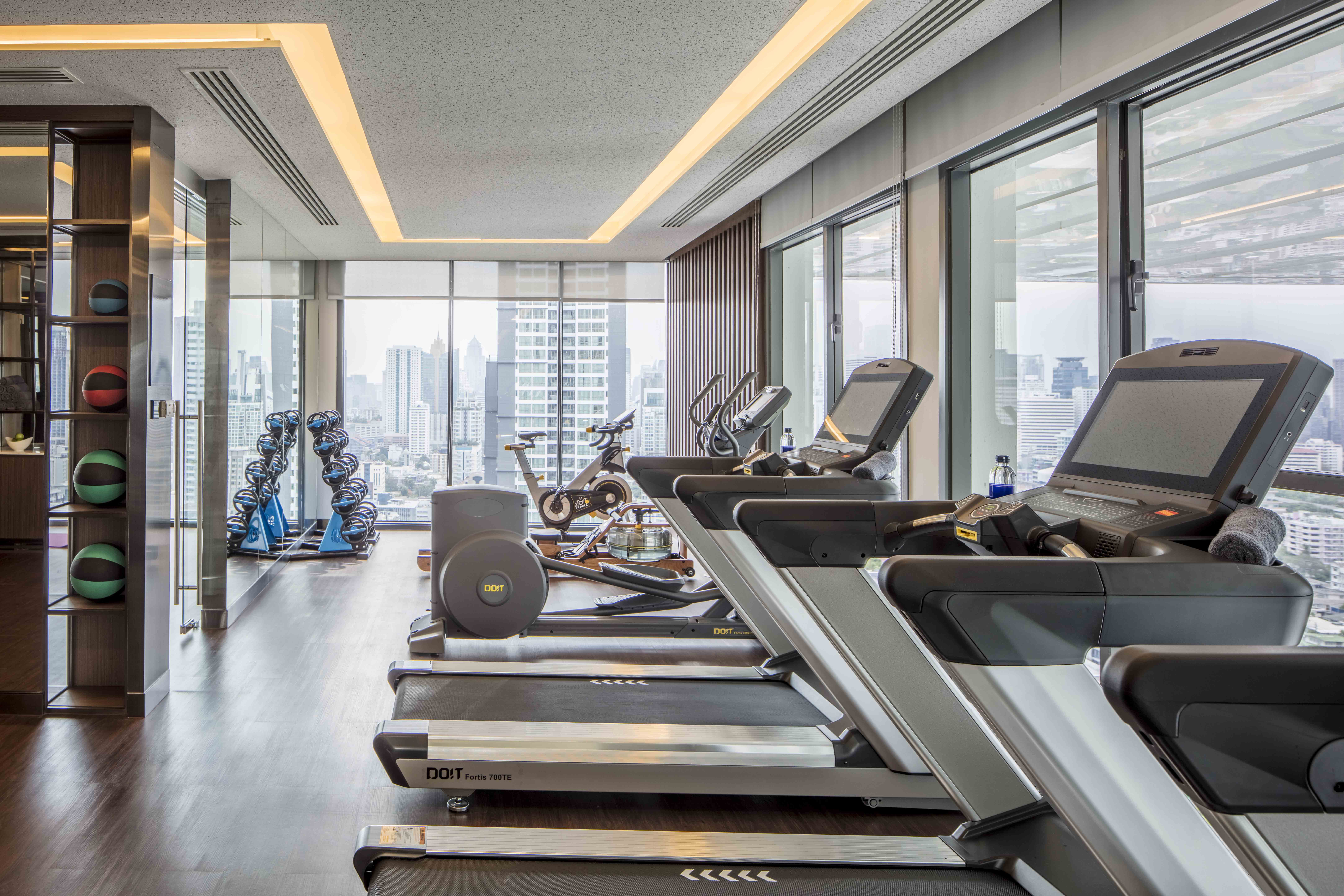 10 GYM for Suite Guest on Level 26